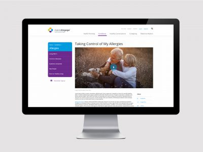 Designing a Consumer Health & Wellness Portal for Merck