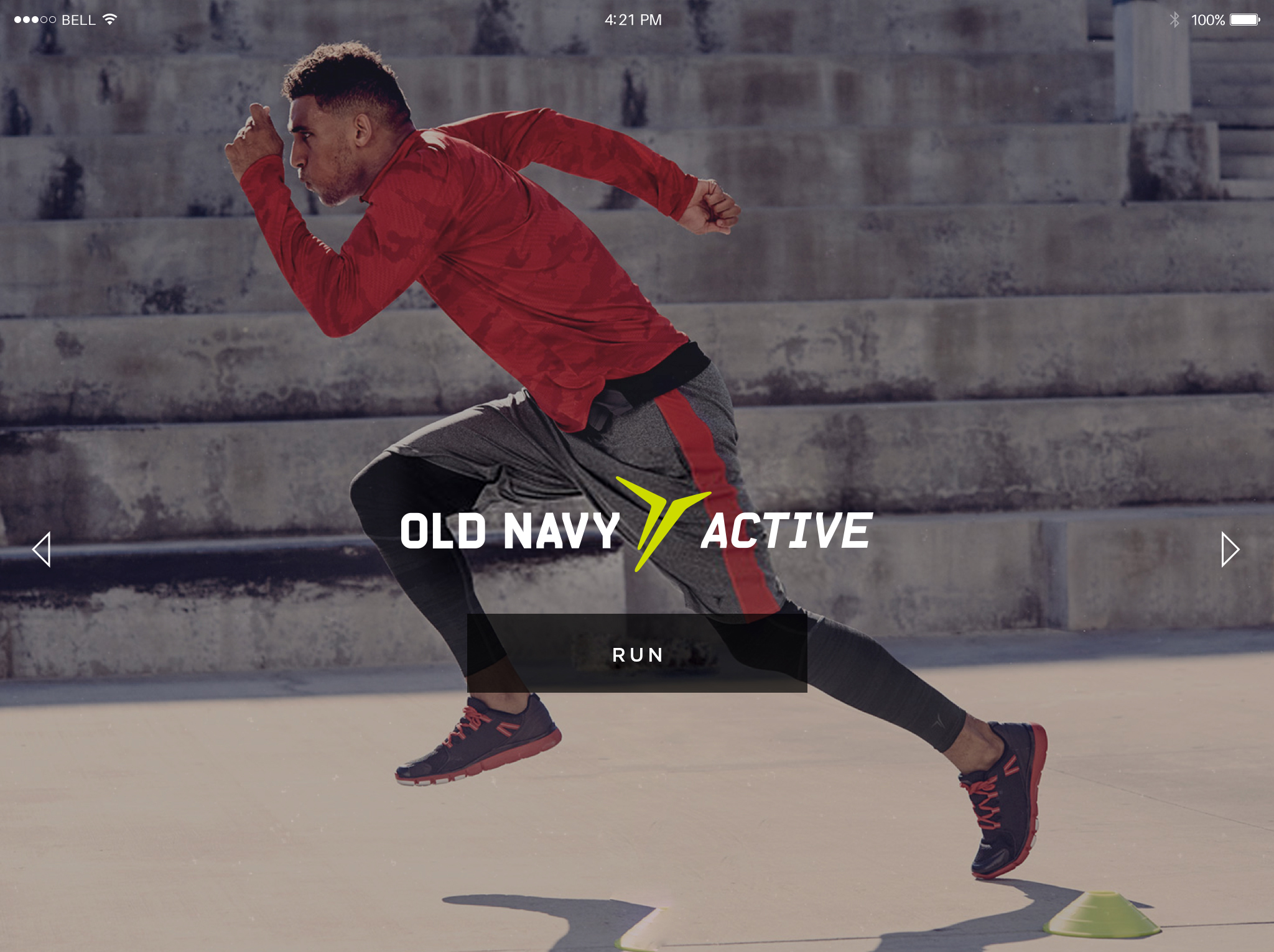 Ui design for old navy amy weibel i crafted a series of landing screens making selects from the old navy photo library these screens would autorotate buycottarizona